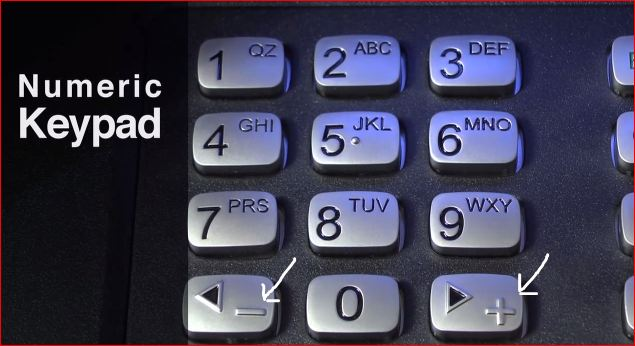 ada keypad New ATM Machine ADA Standards