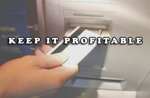 keep it profitable 300x197 Setting Up an ATM Business