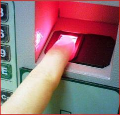 Biometric ATM
