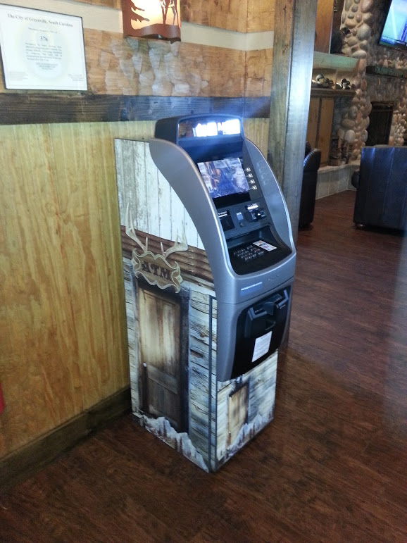 Custom Branded ATM Machine for a Business